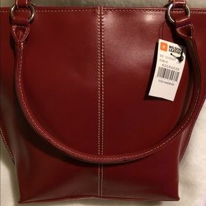 Leather Red Gorgeous Hand bag